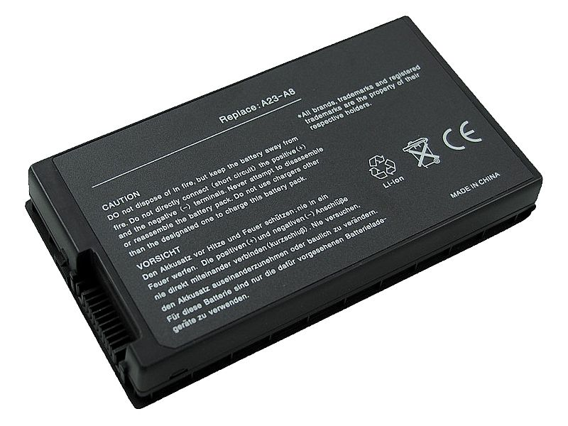 Аккумулятор для Asus F8 X80 Z99 A8  (11.1V 4400mAh) PN  A32-A8